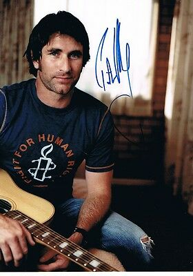 Intellective Pete Murray Signed 8x12 Inch Photo Autograph Photographs Autographs-original
