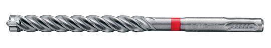 Hilti TE-CX Masonry Drill Bit with SDS Plus Shank - TE-CX 1/4