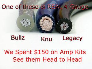 knukonceptz ultra flex kca 4 gauge single amp install wiring kit cca rh ebay com