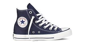 Scarpe sportive uomo/donna Converse All Star HI M9622C Blu Navy