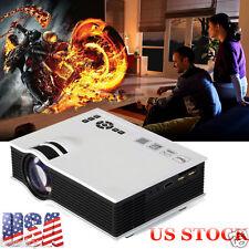 2800lumens LED Mini Home Theater Multimedia Projector 1080P HD HDMI USB Video