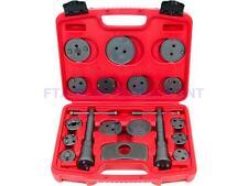 18Pcs Universal Caliper Tool Kit Case Wind Back Disc Brake Pad Piston Service