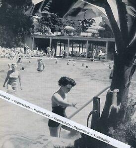 Badeneiler - Schwimmbad - um 1955 oder früher ?