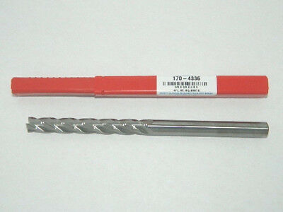 "D13 3//8/"" Carbide End Mill 4 Flute 6/"" Extra Long Square USA HTC 170-4376"