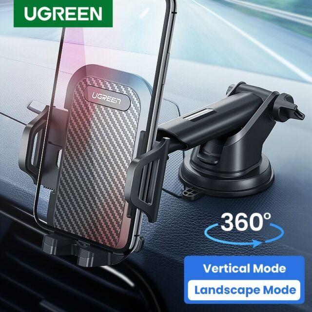 Ugreen Car Phone Holder Mount Dashboard Windshield Stand For 4.7-6.5'' Phone