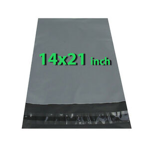 14x21-300X-Grey-Mailing-Bags-Strong-Poly-Postal-Postage-Post-Mail-Self-Seal-DCUK