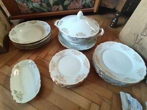 Set piatti porcellana bianca Richard Ginori Vintage, da ...