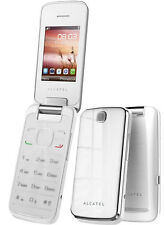 Alcatel 2010 Flip Fold Stylish Camera Big Display Internet Unlocked Mobile Phone
