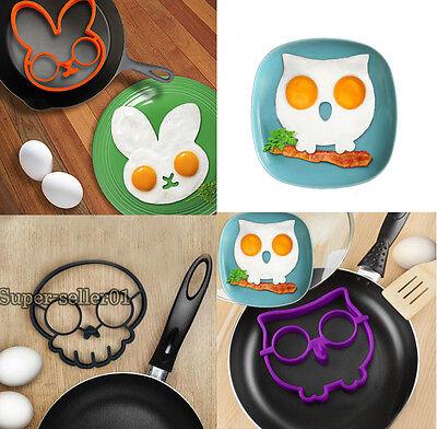 Drôle de forme de lapin Egg Fried Shaper Moule silicone cuisson Outil new mode