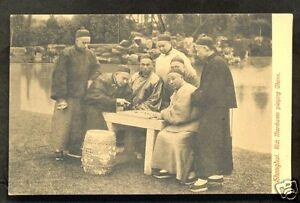 Shanghai-Rich-Merchants-playing-Chess-China-ca-1906