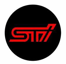 SUBARU WRX STI RS SE MAG CHROME WHEEL RIMS CENTRE EMBLEM DECALS STICKERS 58MM