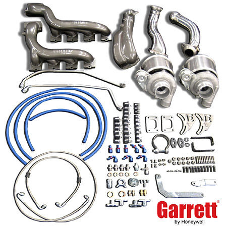 GARRETT GT3071R TUNER TURBO KIT for 2005+ FORD MUSTANG GT 4.6L V8