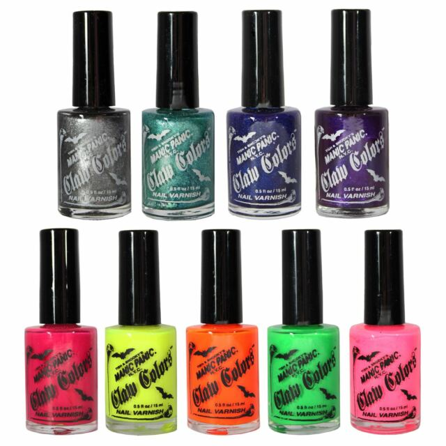 Manic Panic Claw Colors Nail Varnish After Midnight 15ml | eBay