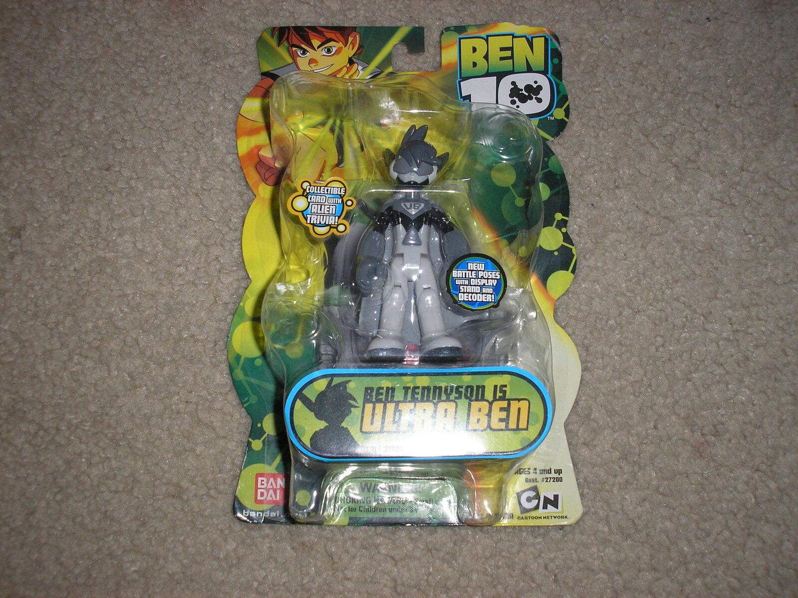 New Ben 10 Figure Ben Tennyson is Ultra Ben Rare Hard to Find 4 Inch Figure