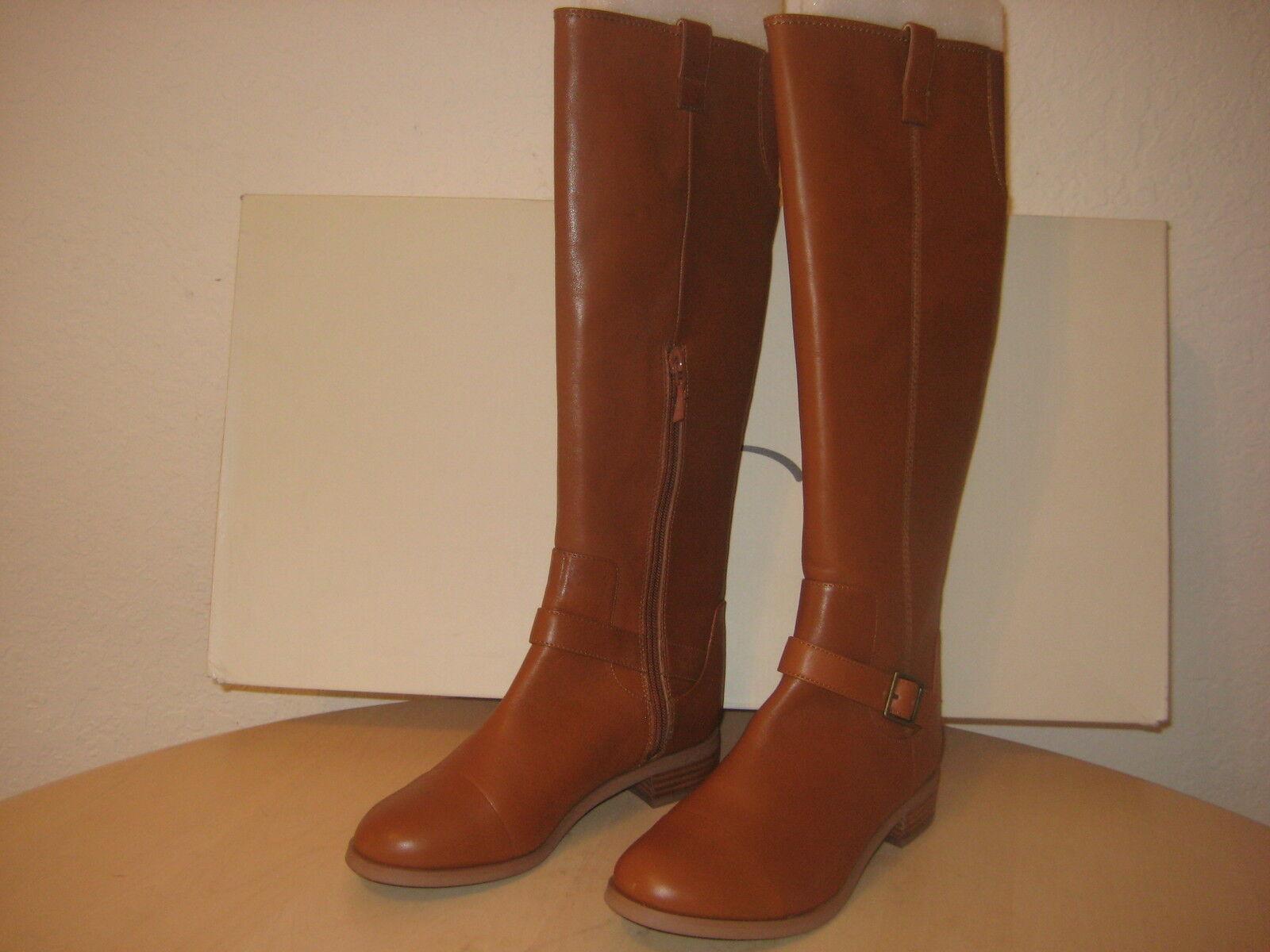 Rachel Roy Schuhes Größe 6 M Damenschuhe New New New Desirey Dark Natural Leder Fashion Stiefel 28740d