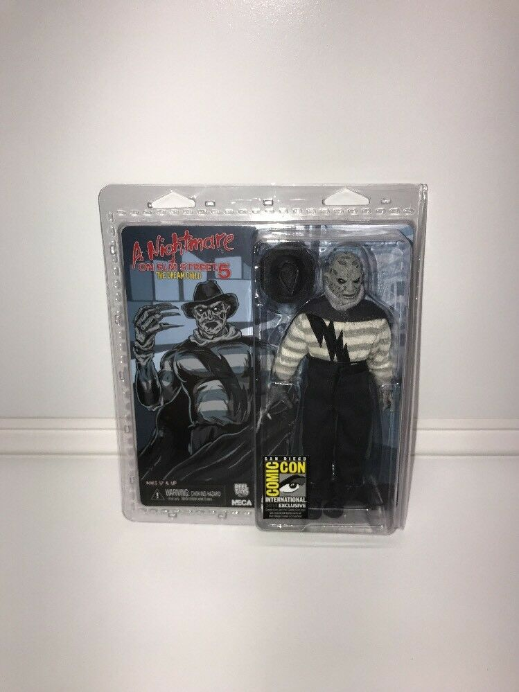 Neca nightmare on elm street traum kind frotdy krueger neuer sdcc