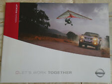 Nissan Pickup brochure Feb 2005