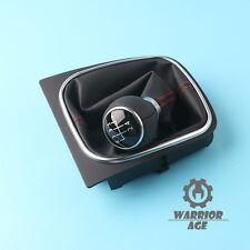 OEM 5-Speed Manual Leather Gear Shift Knob  For VW GOLF Jetta MK6 Mk5 EOS
