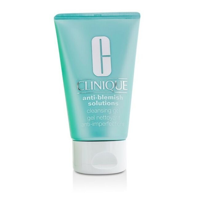 NEW Clinique Anti-Blemish Solutions Cleansing Gel 125ml Womens Skin Care