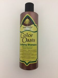 Details about One n Only Argan Oil Color Oasis Clarifying Shampoo 12 Fl   Oz  Bottle