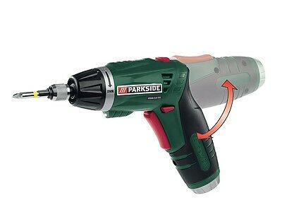 Parkside Cordless Screwdriver  PSSA 3.6 C4 Li-ion Lithium With 26 extra Bits NEW