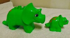 Lego Duplo Triceratops Dinosaur Lot Adult And Child
