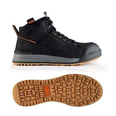 SCRUFFS SWITCHBACK Safety Work Boots STEEL TOE Leather Hiker Brown/Tan/Black