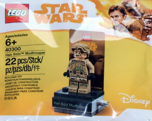 LEGO Star Wars  40300 Polybag Neu Han Solo Mudtrooper