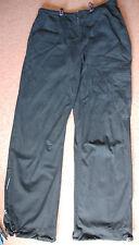 New 8-12 Drawstring Waist Hamnett Wide Leg Cargo Jeans Trousers Embroidered leg