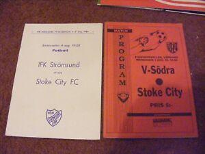 1983 IFK Stromsund v Stoke City Friendly - SETTLE, United Kingdom - 1983 IFK Stromsund v Stoke City Friendly - SETTLE, United Kingdom