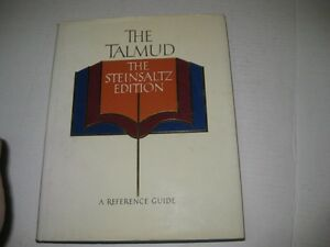 Steinsaltz-Talmud-a-REFERENCE-GUIDE-ENGLISH-book-Judaica