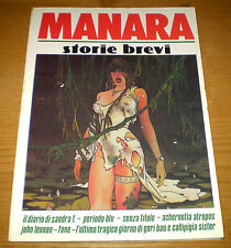 MANARA Storie Brevi Fumetti Racconti TOTEM suppl. Ediz. NUOVA FRONTIERA 1985