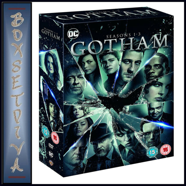 GOTHAM - COMPLETE SEASONS 1 2 & 3 - DC GOTHAM *BRAND NEW DVD BOXSET***