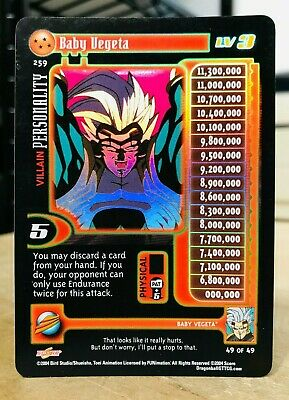 Dragon Ball Z GT CCG Uub lvl 1 Falt Foil Unlimited! Baby Saga!!