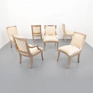 Enjoyable Details About J Robert Scott Sally Sirken Lewis Set Of 6 Dining Chairs Gamerscity Chair Design For Home Gamerscityorg
