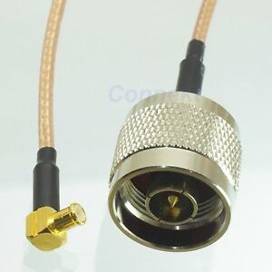 N-male-to-MCX-male-right-angle-crimp-RG316-cable-jumper-pigtail-15cm