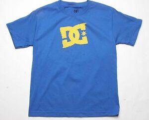 DC Shoes Boys Based Tee Royal Blue ADBZ000007 L