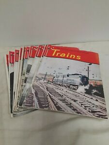 Vintage-Trains-The-Illustrated-Magazine-Of-American-RailRoading-1948-11-issues