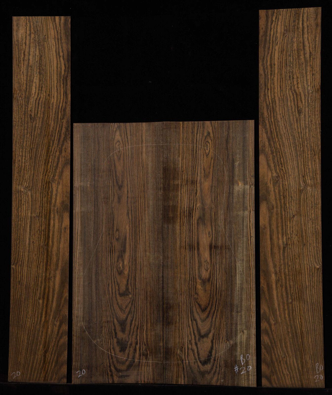 BocoteGuitar Set Drot Größe Back and Sides Luthier Tonewood