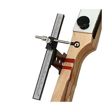 Archery Recurve Bow Sight Metal Target Accessory Bowsight Black... Free Shipping
