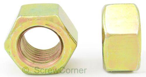 Sechskantmutter 3//4-10 UNC Grade 5 gelb verzinkt Hex Nut 3//4-10 UNC Grd.5 Yp