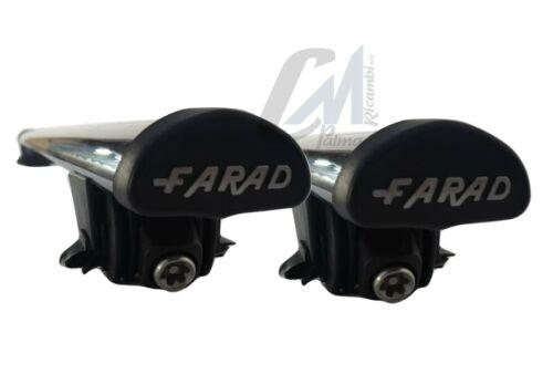 IRON120+BM05 BARRE PORTATUTTO FARAD ACCIAIO NERE GRANDLAND X CROSSLAND X 2017/>