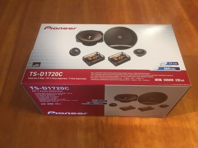 New Genuine Pioneer TS-D1720C 2-Way 6.75in. Car Speaker