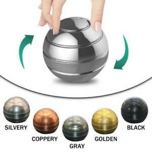 Adult-Desktop-Decompression-Rotating-Spherical-Gyroscope-Kinetic-Desk-Toy