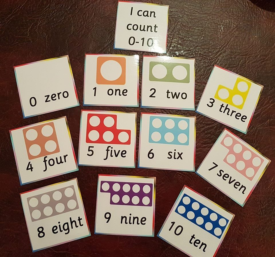 Numicon - Cards - Counting - Sums- Number recognition recognition recognition - Starting school 2f42ed
