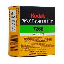Kodak Tri-X Super 8mm Black And White Reversal Film 7266 Official Reseller