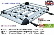 Roof Deck tray platform rack carry box luggage carrier Universal with free bars