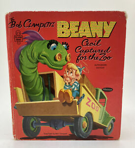 1954 Vintage Bob Clampett's Beany - Cecil Captured For The Zoo Children's Book