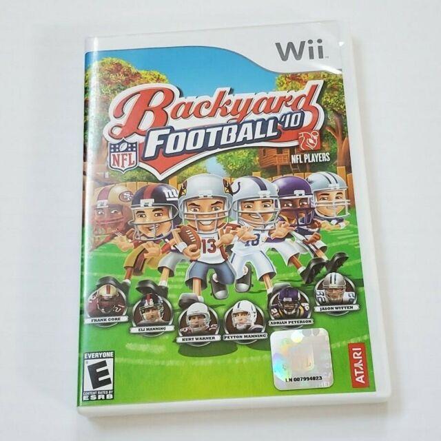 Backyard Football '10 (Nintendo Wii, 2009) Tested Works ...