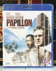 Papillon-Steve-Mcqueen-escasos-nuevo-Blu-ray-region-2-Francia-envio-en-caja